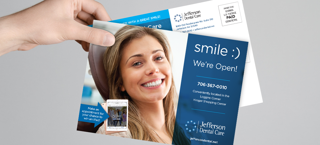 Jefferson Dental Postcard